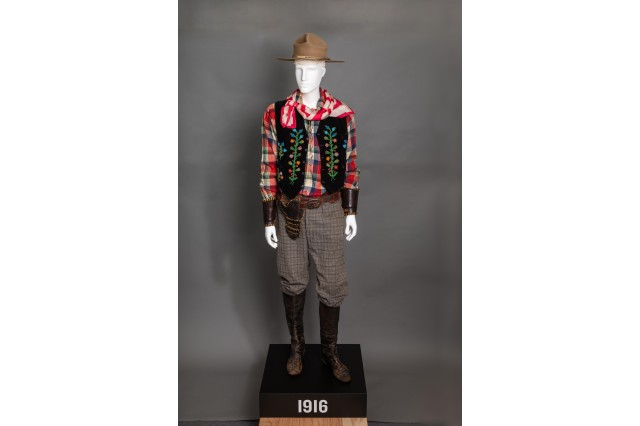 william s hart cowboy costume