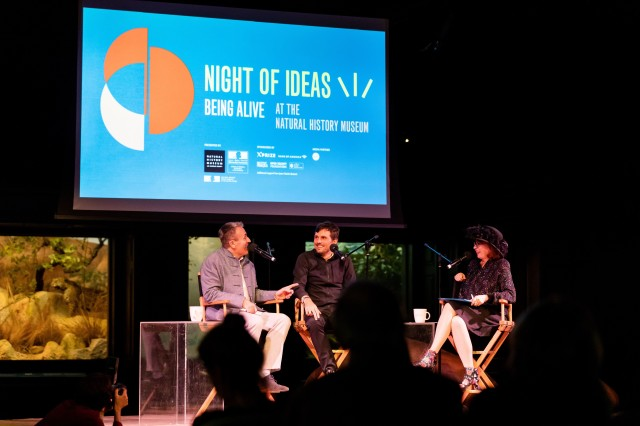 Night of Ideas 2020 - Discussion with Alain Lancelot, Evens Stievenart, Patt Morrison