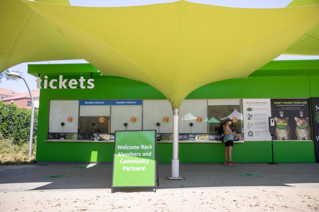 North Ticket Booth Check-in