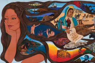 left side of sin censura mural