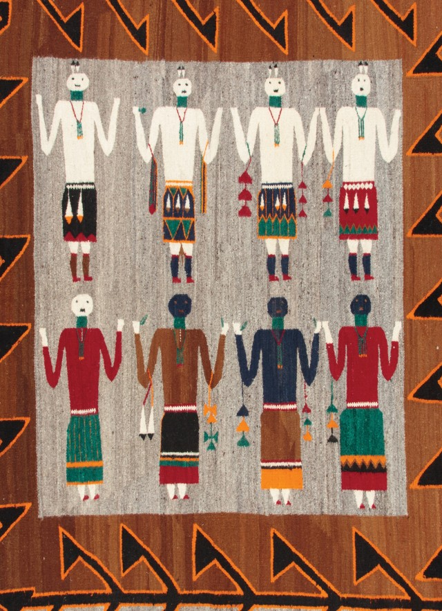 rug from the anthropology collection