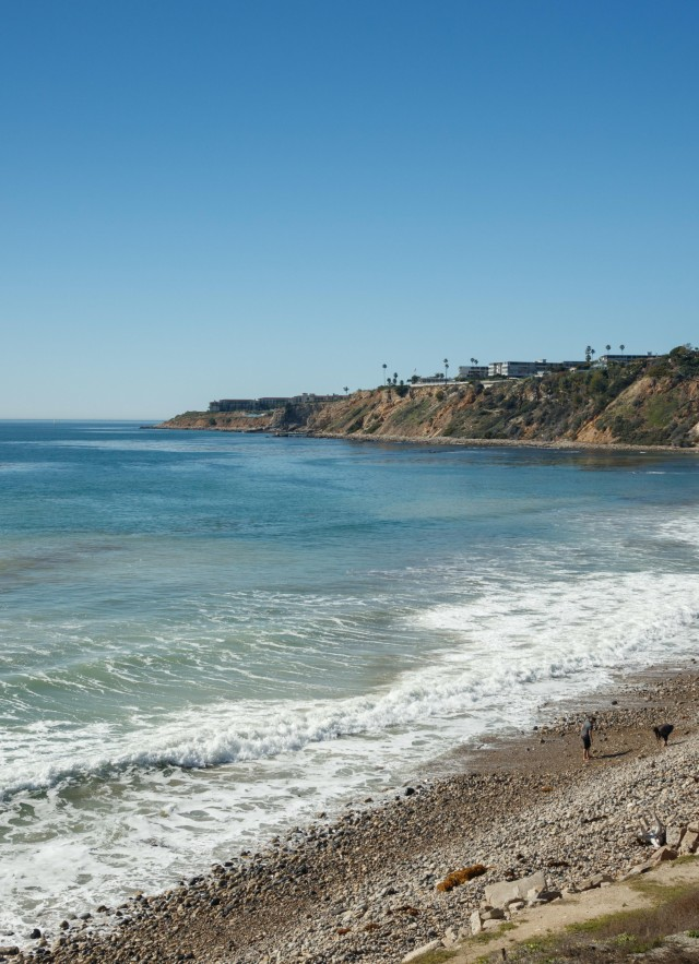 abalone cove beach southern california daytime