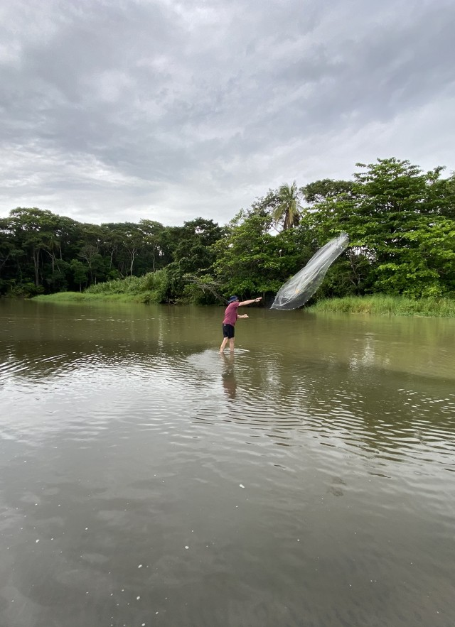 Casting a Net in Costa Rica