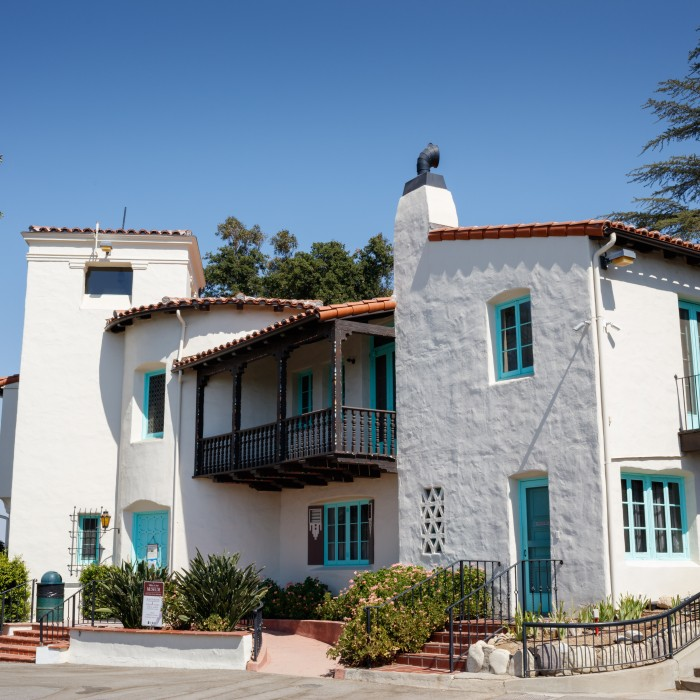Photo of the Hart mansion and museum