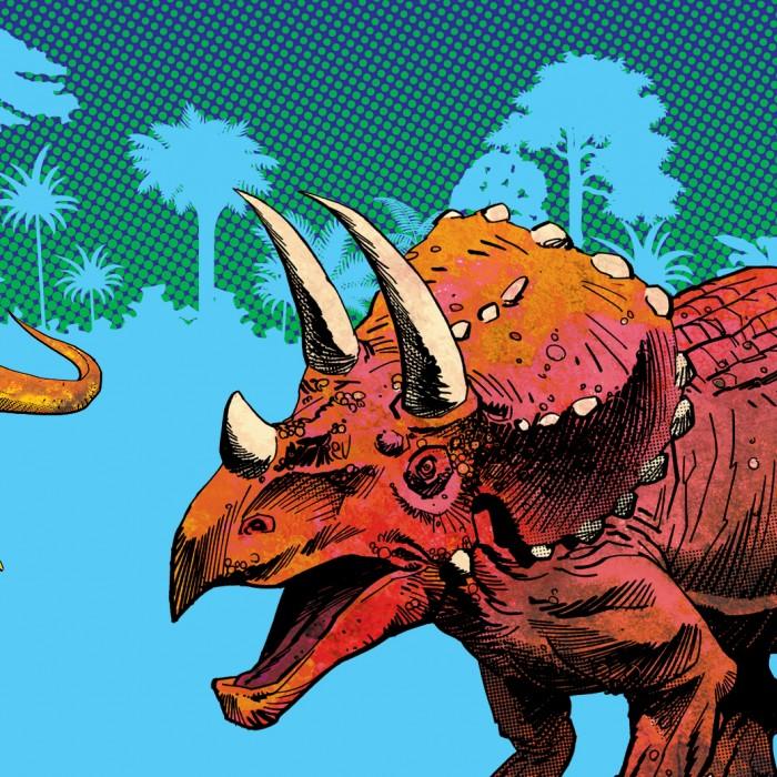 Dino Fest 2020 artwork