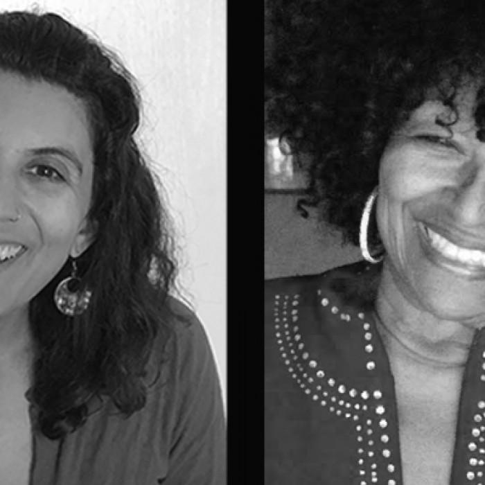 Jenny Gillett entrevistando a Dorsay Dujon para el Proyecto Rise Up L.A. Oral Stories en NHM.