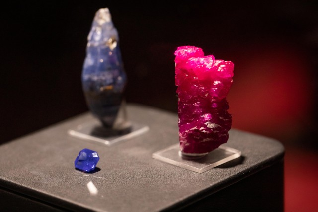 gem and mineral specimens