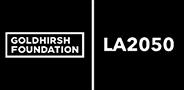 sponsor logos for goldhirsh foundation LA 2050