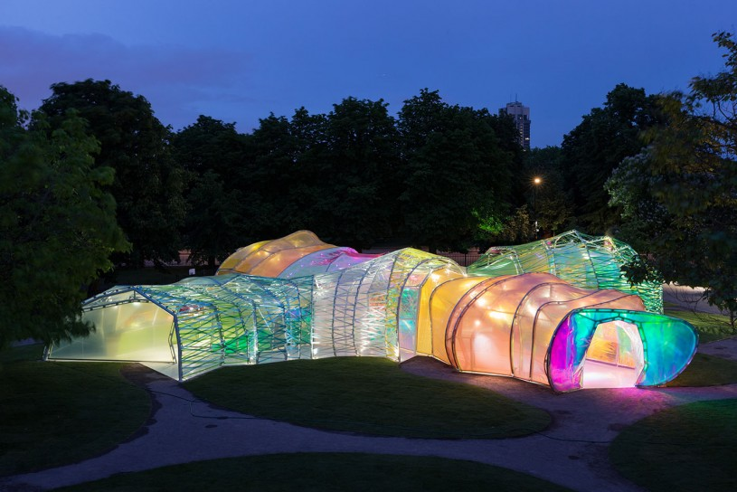 Serpentine Pavilion by SelgasCano in Hyde Park