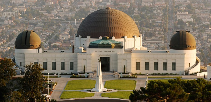 Griffith Observatory exterior shot