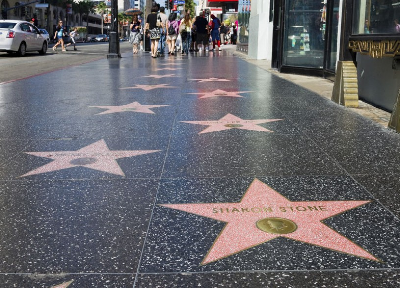 Iconic Hollywood Boulevard Walk of Fame