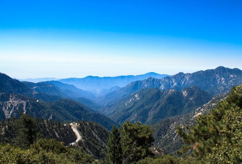 View of San Gabriel Canyon