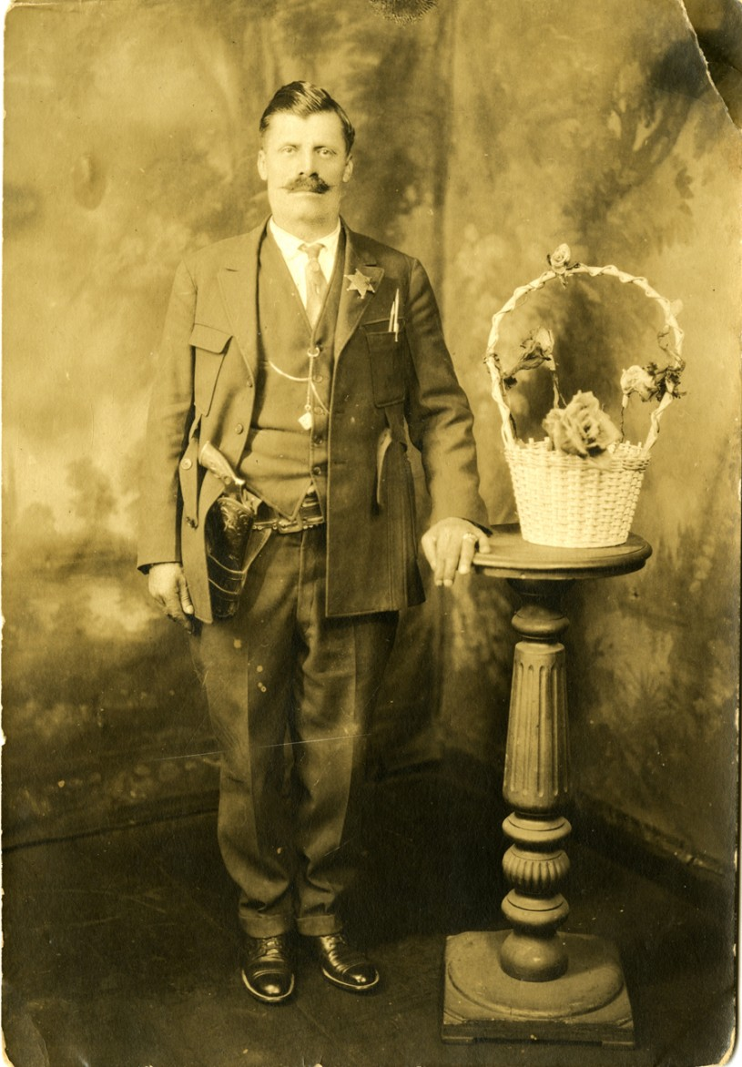 "Genaro ""Henry"" Prado pictured here was a foreman and the sheriff of El Pueblo de Simons"