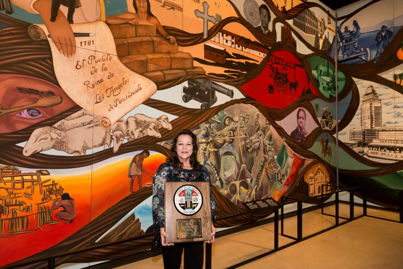 Nhmlac Acquires Barbara Carrasco S Mural Nhm