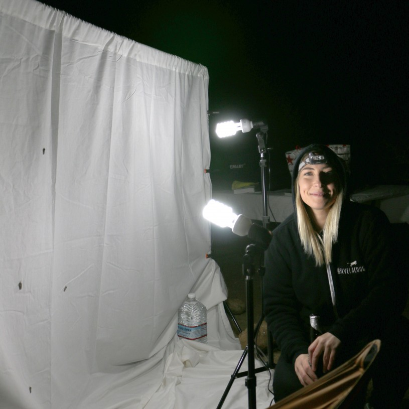 Here is a picture of my lightsheet setup.