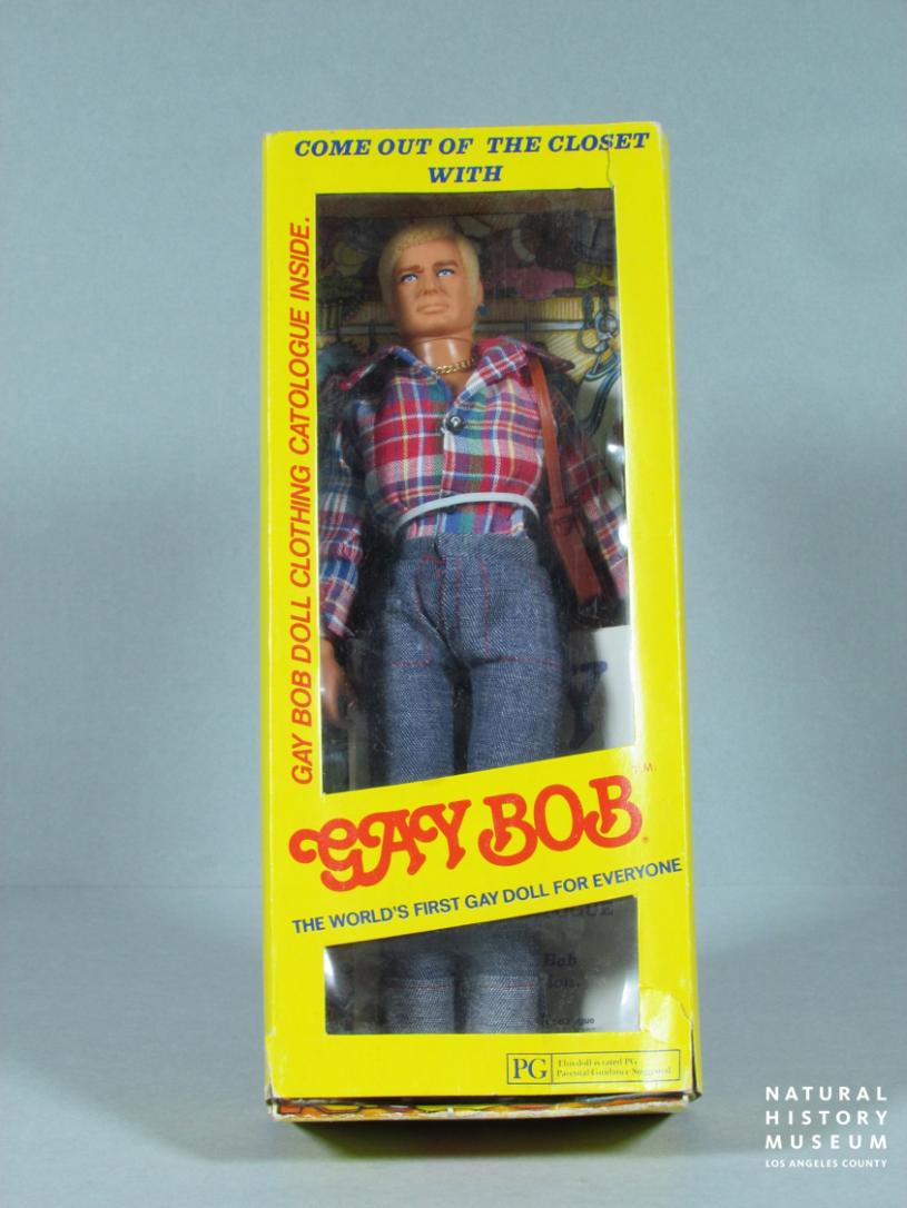 Goy Bob doll in yellow closet box