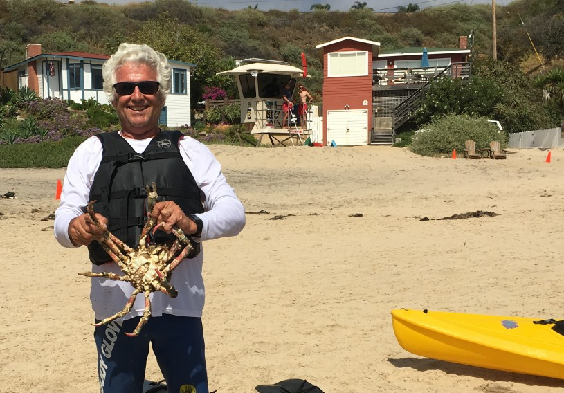 Anglerfish beachcomer fisherman Ben Estes