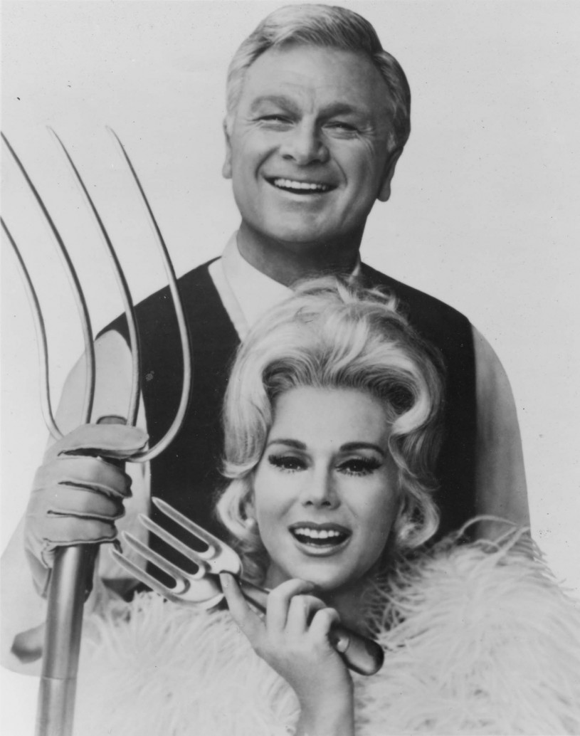 Poster of Eddie Albert and Eva Gabor.