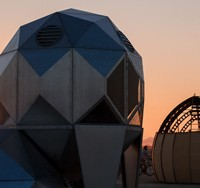 Photo of Observatory at sunset