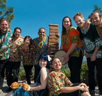 Photo of Masanga Marimba Group Members