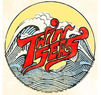 Logo - words 'Twin Seas'
