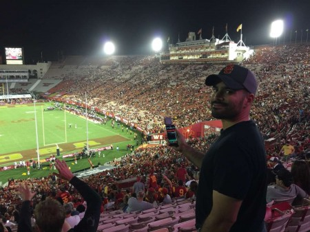 Echometer, USC, Trojans, Football